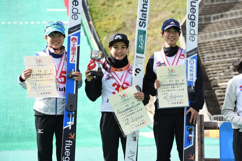 全日本選手権2位伊藤有希