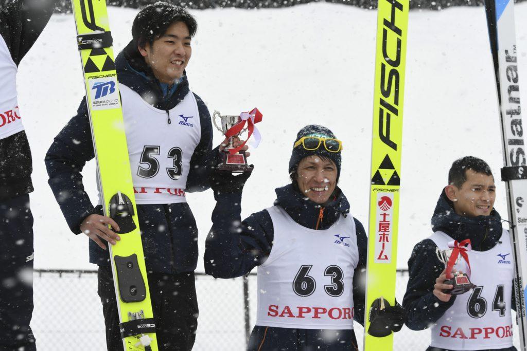札幌オリンピック記念男子表彰式